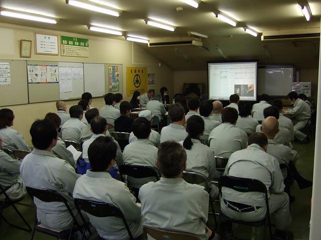 「小集団活動発表会」が開催されましたの写真1