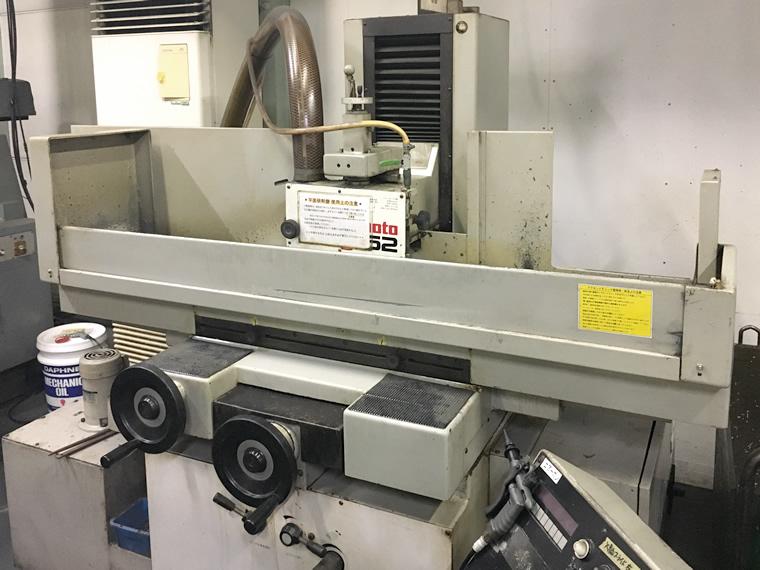 工場に設置されている研磨機
